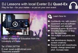 Intro to Pro DJ Lessons. Modern Equipment & Software. Record and Edit mixes and tracks. Add samples.