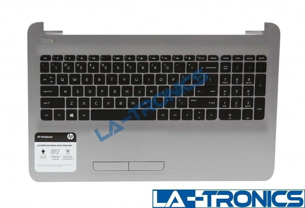 """Genuine HP 15-ba113cl 15.6"""" Palmrest wTouchpad Keyboard Speakers AP1O2000321"""