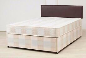 ORDER NOW -- Double Divan Base + SUPER Orthopaedic Mattress -- Brand New -- Same Day Delivery