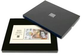 Limited edition £10 polymer note