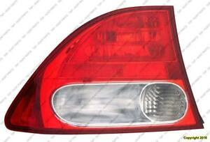 Tail Light Driver Side Sedan Honda Civic 2009-2011