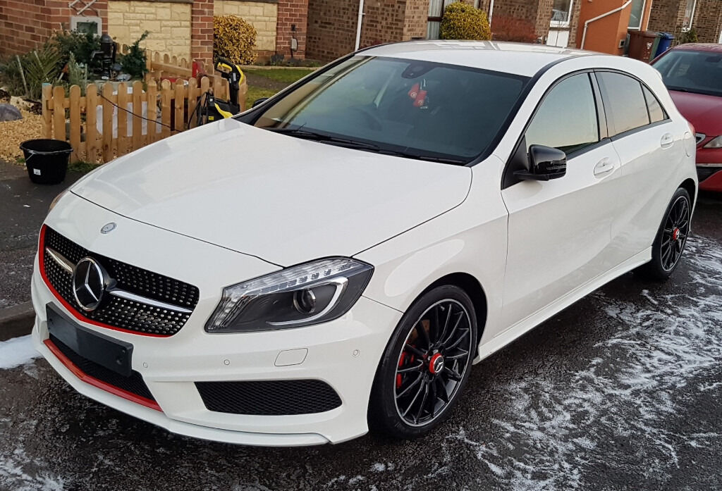 mercedes benz a class a200 cdi amg sport night edition amg bodystyling in bicester. Black Bedroom Furniture Sets. Home Design Ideas