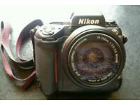 Nikon F5 SLR 35 mm camera fantastic condition including Sigma zoom lens