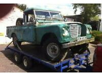 Land rover defender wanted pre 92