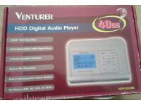 Venture hd digital audio player complete in box