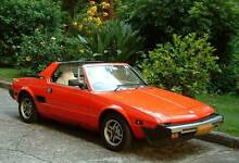 1981 Fiat X1/9 Coupe - Modern classic sport car Epping Ryde Area Preview