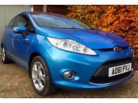 61 Ford Fiesta TDCI ZETEC Diesel £20 Per Year Road Tax Full History Recent Service HPI Clear
