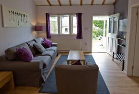 Lovely cottages, fully equipped, in rural setting, walking distance to village, bills included