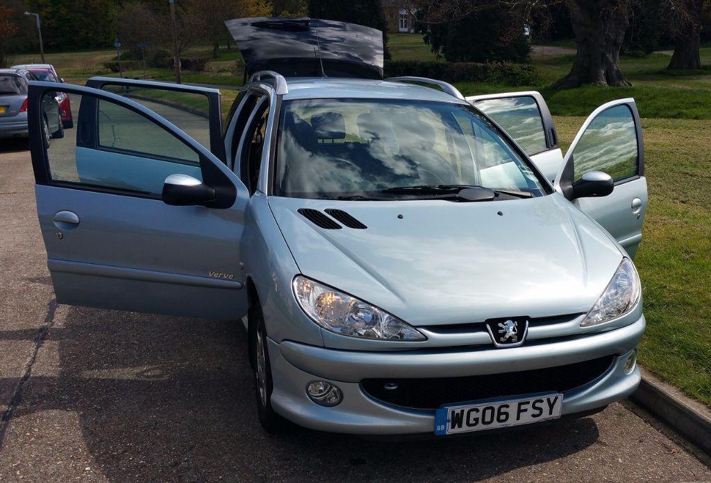 Low mileage Peugeot 206 Sw Verve estate car for sale. Price is ...