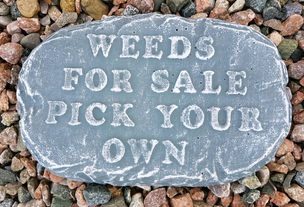 Concrete Funny Garden Signs Ornaments