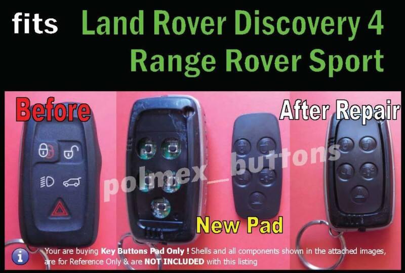 landrover discovery 4 repair key pad
