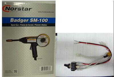 Miller 300409 Badger Spoolgun Kit Fits Miller 135140180 175 Mig Welders