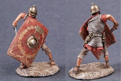 Tin toy soldiers ELITE painted 54 mm Roman legionary with sword (Toy Roman Sword)