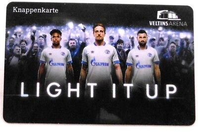 Knappenkarte + FC Schalke 04 + Light It Up + Hülle + Restguthaben #12 ()