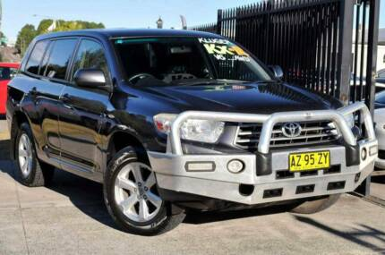 2008 Toyota Kluger Wagon Kariong Gosford Area Preview