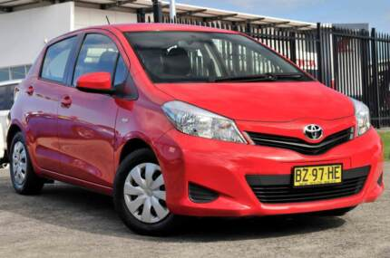 2014 Toyota Yaris Hatchback Kariong Gosford Area Preview