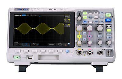 Siglent Sds1102x Super Phosphor Oscilloscope 2-channel 100mhz