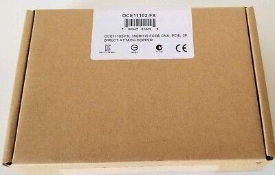 Cisco Emulex OCE11102-FX Dual-Port 10 GbE FCoE CNA PCIE Direct Attach Copper segunda mano  Embacar hacia Argentina