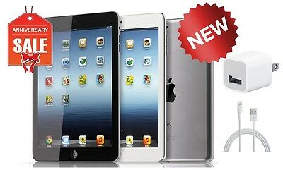 NEW Apple iPad Mini 1st Gen - 16GB - Wi-Fi 7.9in - Black Gray Silver & White