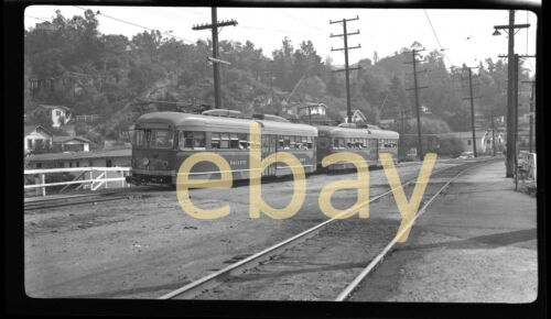 Pacific Electric 5015, Glendale Line, 1948- B&W Negative