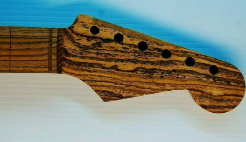 Bocote on Bocote 24.75 conversion s style custom guitar neck  US made