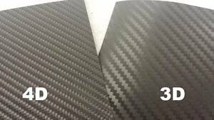 3D 4D Carbon Fiber Vinyl Wrap Car Sticker Laptop DIY Film Sheet Narre Warren Casey Area Preview