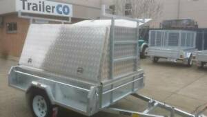 Galvanised 7x5 Electric Braked Tradie Trailer with aluminium top. Hindmarsh Charles Sturt Area Preview