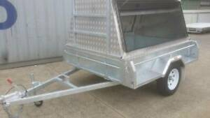 New Galvanised 7x5 Braked Tradesman Trailer with aluminium top Hindmarsh Charles Sturt Area Preview