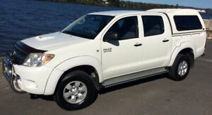 2008 Toyota Hilux KUN26R 08 Upgrade SR (4x4) 5 Speed Manual Dual Cab Pick-up Taree Greater Taree Area Preview