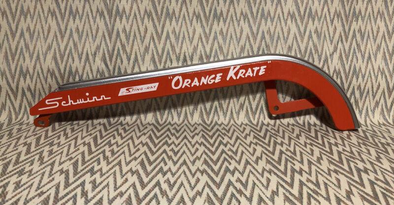Schwinn Krate Orange Krate, Chain Guard