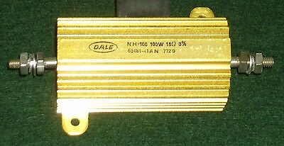 Dale 15 Ohm - 100w - 3 - Non-inductive Wire-wound Power Resistor Nh10015r00he01