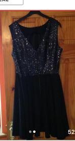 Sequin Skater Dress size 16