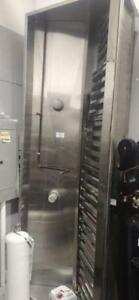10 ft Stainless Steel Canopy Complete with Fire Suppression and Filters -