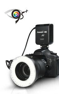 Aputure Halo HC100 Macro Ring Flash/Video Light LED Canon Nikon