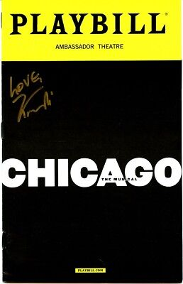 CHICAGO In-person Signed Playbill by KANDI BURRUSS