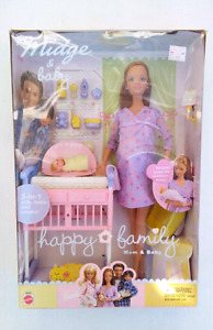 Barbie collector Midge and baby