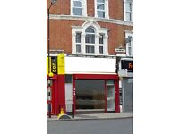 SHOP LEASE FOR SALE IN FULHAM – LARGE OFFICE FLOOR SPACE WITH 2 FLATS ABOVE