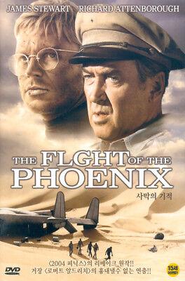 THE FLIGHT OF THE PHOENIX,1965 (DVD,All,New) James Stewart, Richard Attenboroug d'occasion  Expédié en Belgium
