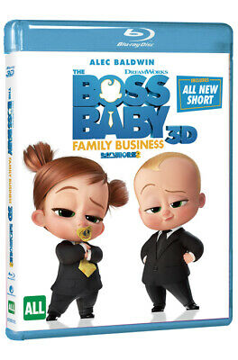 (Presale) The Boss Baby 2: Family Business BLU-RAY 2D & 3D Combo