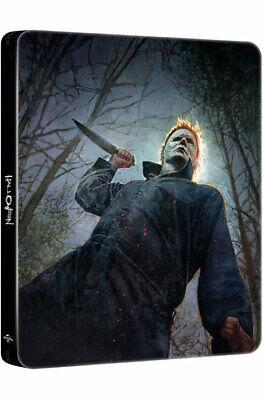 Halloween - Blu-ray, 4K UHD Steelbook Korean Edition (2019) / Jamie Lee Curtis](Korean Halloween Movie)