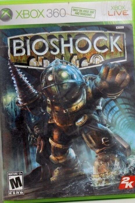 Xbox 360 Games - BioShock (Microsoft Xbox 360, 2007) GAME DISC AND CASE