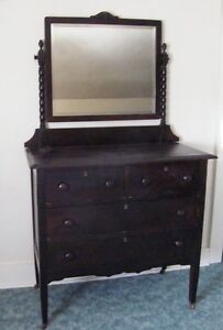 2 Antique Dressers with mirrors