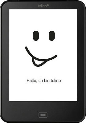 Tolino Vision 3 HD WiFi eBook Schwarz
