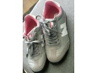 Womens grey and pink new balance trainers size 4.5