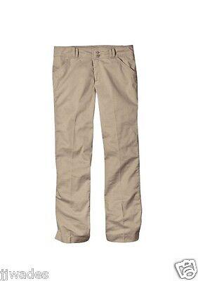 Dickies Size 19 Khaki Juniors Stretch Wide Band School Work Uniform Pants *NEW*