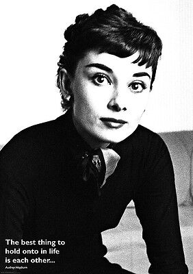 Poster AUDREY HEPBURN - 1954 - Best Thing To Hold Onto  ca60x85cm NEU 58742