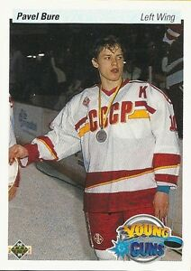 PAVEL BURE .... ONLY ROOKIE CARD .... 1990-91 Upper Deck High