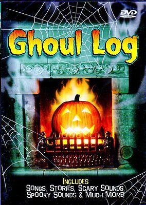 GHOUL LOG: VIRTUAL HALLOWEEN JACK-O-LANTERN w/SCARY MUSIC, SCENES & SOUNDS! NEW!](Virtual Halloween)