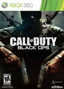 WANTED Black ops 1 for xbox 360