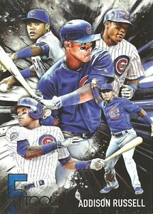 2017 Topps Five Tool Addison Russell Chicago Cubs 5T24